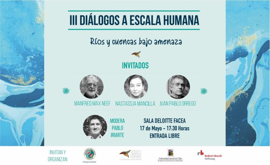 """""""Ríos y cuencas bajo amenaza"""": III Jornada de los Diálogos a Escala Humana."""